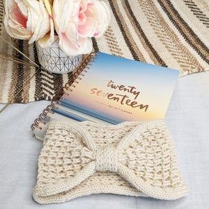 Crochet Knitted Headband